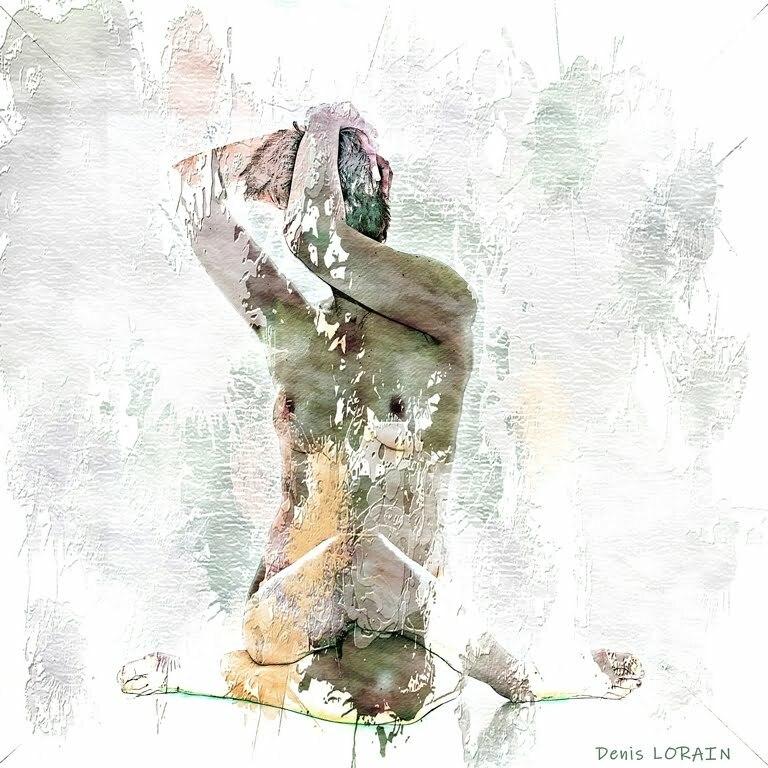 Denis Lorain - Photographe Nu Artistique - Aloyse Boite blanche 16.02. 202114